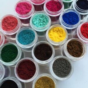 24Colors 10ml/Bottle Velvet Flocking Dust Powder Manicure Decoration Polish Glass Nails Art DIY Tips Design Nails Art