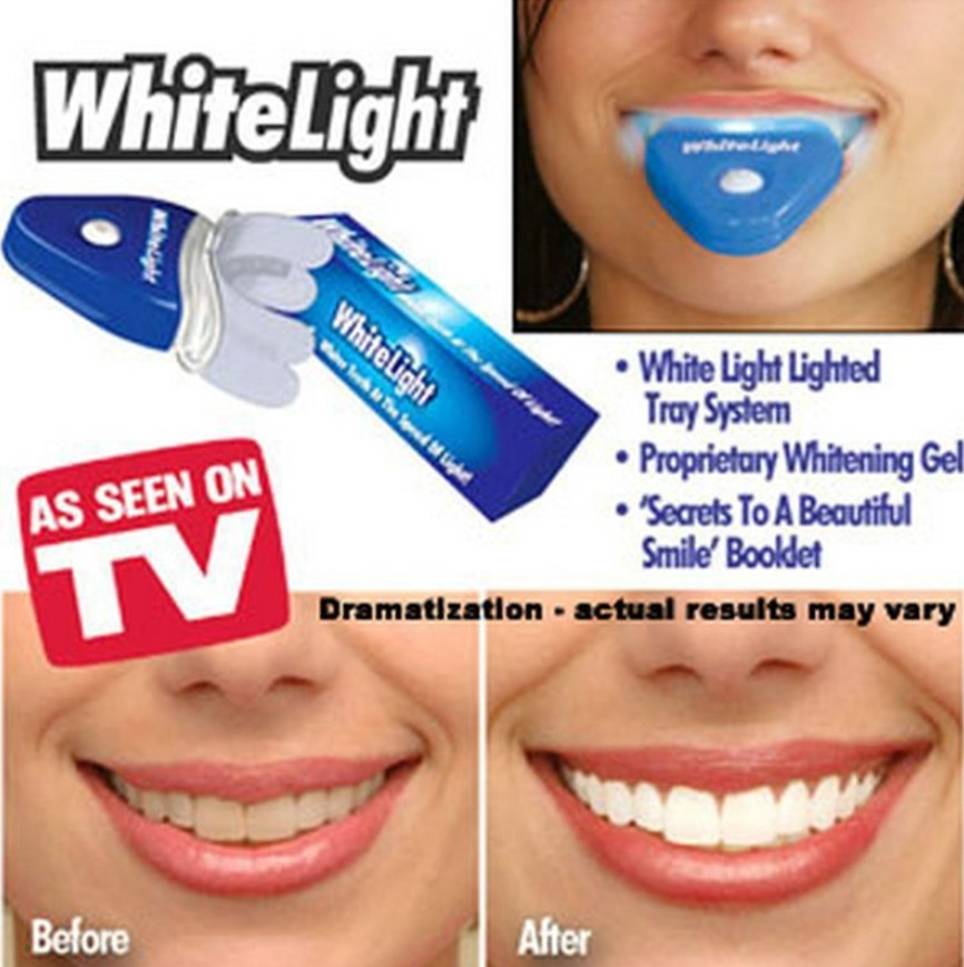 Bright Smile New Dental White Teeth Whitening With Led Light For