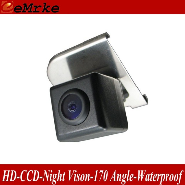 eeMrke HD CCD Reverse Camera For Ford Focus MK3 2010~2015 Night Vision Waterproof Handle Trunk Place Rear Parking Camera