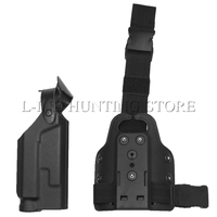 Combat HuntingThigh Holster Military Airsoft Quick Release Tactical Leg Holster for Colt 1911 Light Bearing