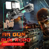 Nieuwe AR guns real mobiele games werkelijkheid smart VR AR Game Gun voor Android iOS gift voor kids airsoft air guns speelgoed pistool airsoft pistol