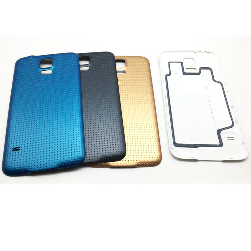New Rear Back Cover Battery Door Case For Samsung Galaxy S5 G900 G900F G900M G900v Housing With Waterpoof Adhesive
