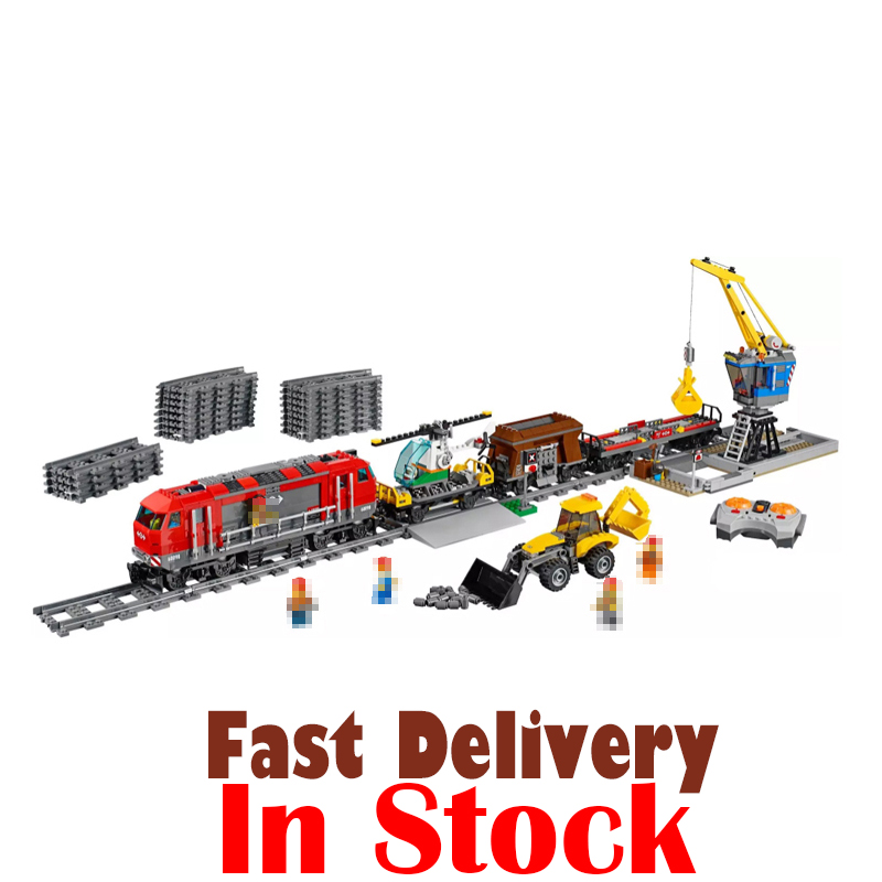 LEPIN 02009 City Heavy-Haul Train POWER FUNCTIONS 984PCS Building Blocks Bricks Toys for boys Compatible with legoINGly 60052