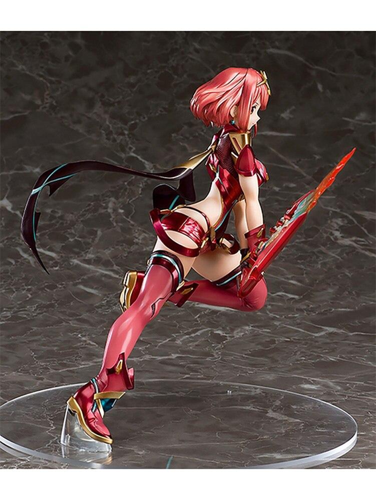 Image 5 - Xenoblade Chronicles 2 Homura Pyra PVC Action Figure Anime Model Shimoji Shino Pyra Sexy Figures Xenoblade 2 Figure ToysAction & Toy Figures   -