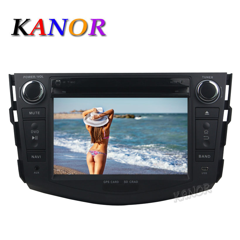 KANOR Android 5.1 Car DVD Player For Toyota RAV4 2006 2007 2008 2009 2010 2011 2012 Radio GPS 2 Din Stereo WIFI SWC USB SD beautiful and pract fabric rear trunk security shield cargo cover black for toyota rav4 rav 4 2006 2007 2008 2009 2010 2011 20