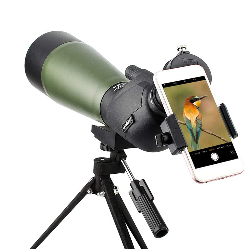 15 45X50 télescope monoculaire haute puissance Hd télescope Mobile extérieur basse lumière Vision nocturne télescope Portable pour montre d'oiseau - 3