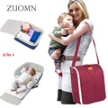 Multifunctional 2 in 1 Messenger Diaper Bags Movement Baby Bed Crib Outdoor Folding Bed  Infant Travelling mummyBag YL276