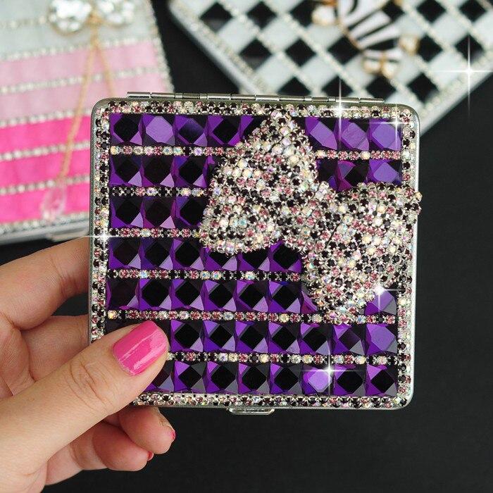 New women cigarettes box Fashion Cover Holds 20 Cigarettes case