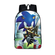 cartoon sonic backpack for teenager boys girls daypack children school bags kids backpack student book bag colorful unicorn students backpack cartoon panda children school bags backpack for teenager girls book bag women laptop backpack