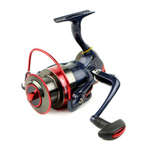 2017 New 13BBs Big Spool Long casting Spinning fishing reel with Double Main Bearings Drag System For carp feeder fishing