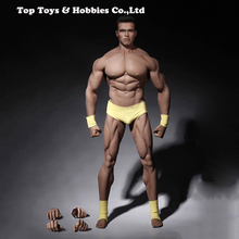 In Stock 1/6 Phicen PL2016-M34 Male Super Strong Seamless Stainless Steel Body Muscular Figure Model For Arnold Head