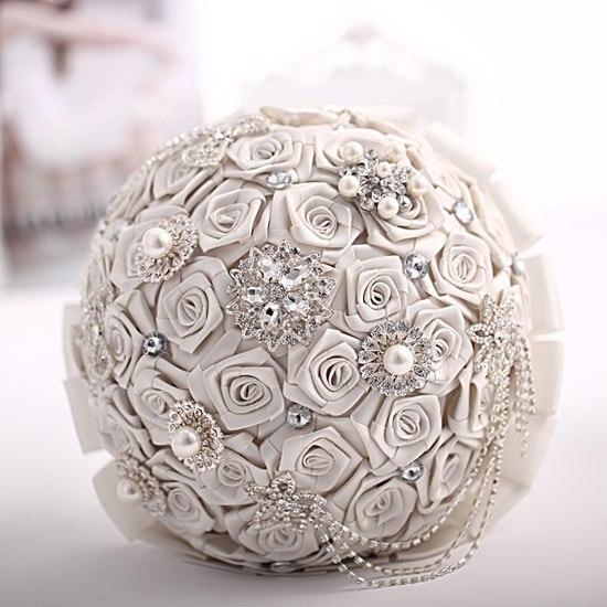 Artificielle soie Rose décoration de mariage fleur demoiselle d'honneur tenue de mariée Bouquet mariée mariage bouquet de fleur mariage