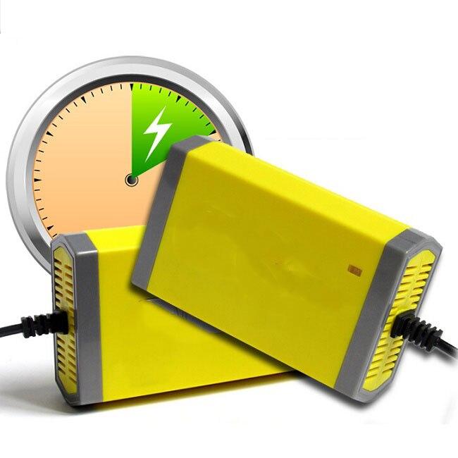 Лидер продаж 12 В 20A Smart герметичная свинцово-кислотная Перезаряжаемые Батарея Зарядное устройство ИБП мотоциклов/car Высокое качество 2 шт./ло…