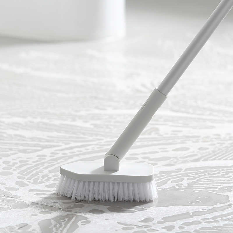 Long Handle Cleaning Floor Brush Telescopic Rod Tile