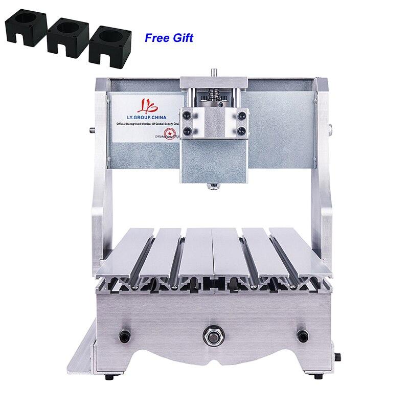 Mini CNC routeur cadre 3020 vis trapézoïdale bricolage Machine de gravure Kit