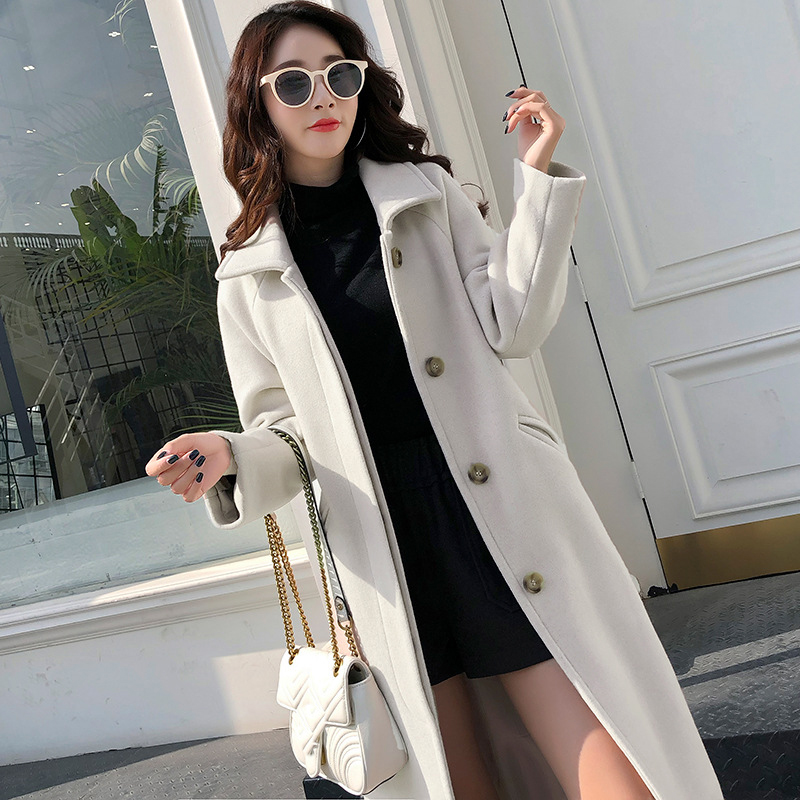 Fashion Winter Trench Coat For Women Long Coat Women Plus Size Lingerie Manteau Femme Hiver Abrigos Mujer Invierno 2019