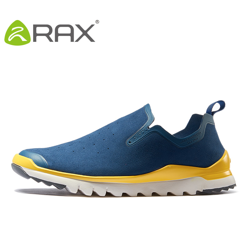 RAX Män Kvinnor Outdoor Sports Skor Andningsbara Walking Shoes Män Lightweight Sneakers Women Jogging Camping Fast Walking Shoes