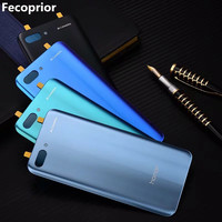 Fecoprior Honor10 Original   Housing   For Huawei Honor 10 Glass Battery Back Cover   Mobile     Phone   Cover Replacement Parts Case