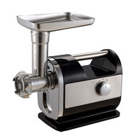 Stainless Steel Household Meat Grinder Multi function Electric Twist Stuffing Enema Garlic Small Commercial Meat Mincer MGH