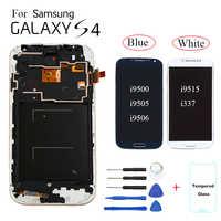 TFT For Samsung Galaxy S4 i9500 i9505 i9506 Display LCD Screen replacement for Samsung S4 i9515 i337 display with frame module