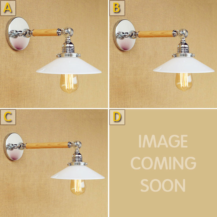 White Glass Arm Wooden Wall Light Fixtures Edison Style Loft Industrial Wall Lamp Vintage Wandlampen Appliques Murale Pared glass wooden arm retro vintage wall lamp led edison style loft industrial wall light sconce home lighting appliques pared