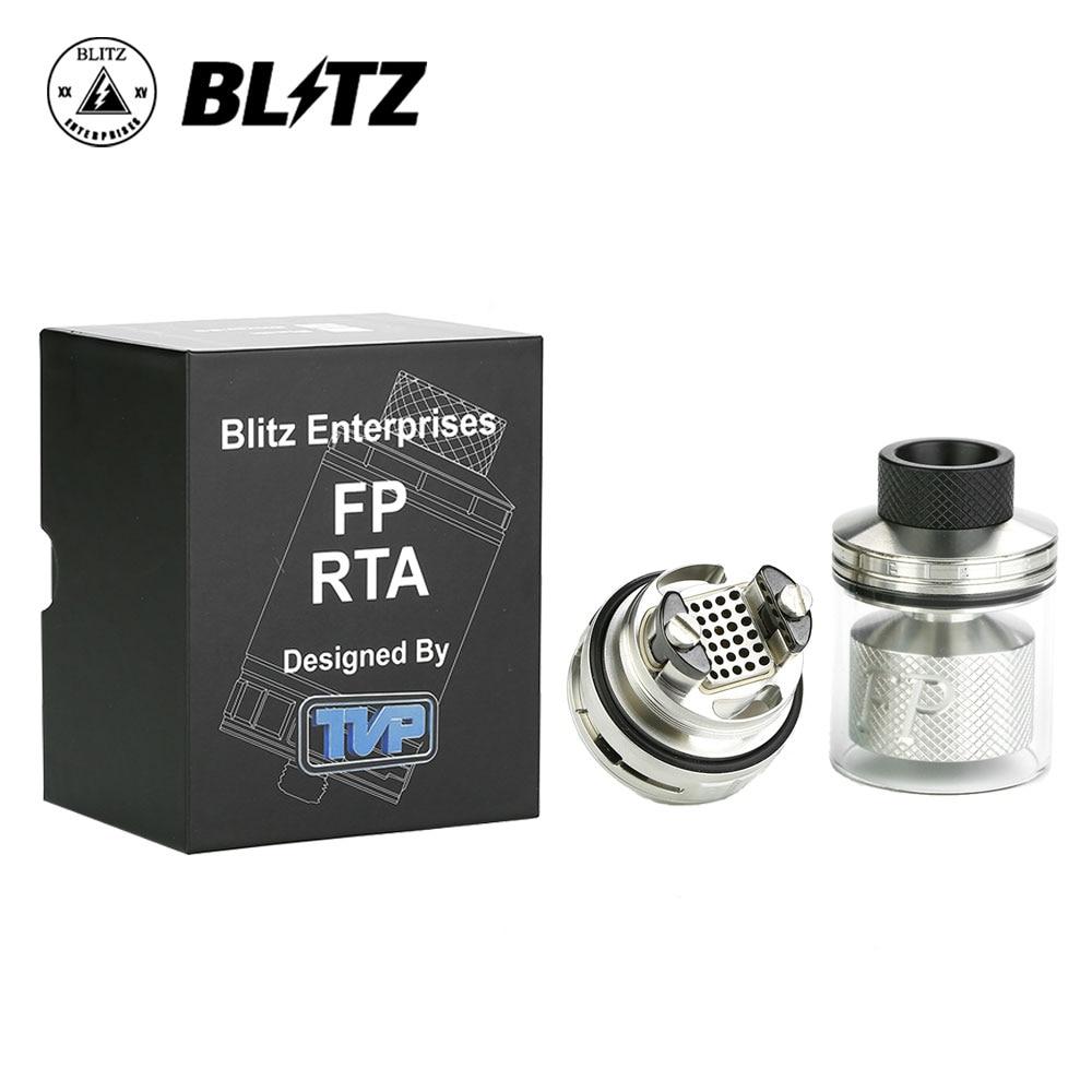 Blitz FP RTA 30mm Énorme Diamètre 4 ml/6 ml Capacité Simples/Double Bobine Bâtiment Adopte 30 minuscule Trous D'écoulement D'air Vs Galaxies MTL