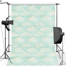 Wallpaper Vinyl Photography Background Backdrop For Wedding Cloud Oxford Children photo studio 1496