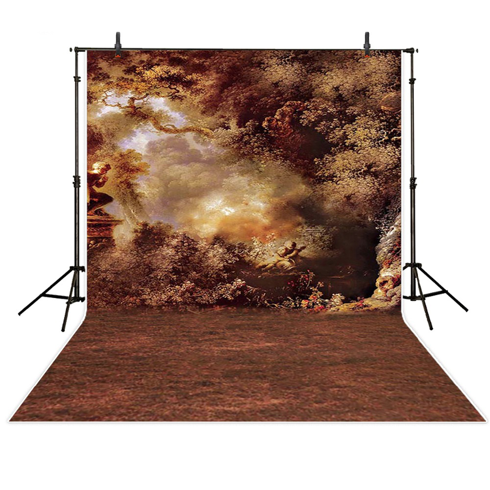 8x8ft enfants toiles de fond de photographie automne feuille fond photo accessoires de studio bébé numérique imprimé