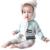 Outerwear bebê 2017 Algodão Listradas Nuvem Crianças Camisola Menino Camisola Fashion Girls Malhas Cardigan Bebê Camisola Menina