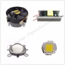 100W att High Power Warm white/ Naturally White/  Full Spectrum/ LED chip Light + Heatsink Cooler+100W Driver