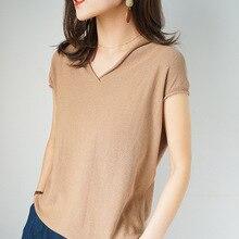 Wholesale Korean version of summer cotton knitting short sle