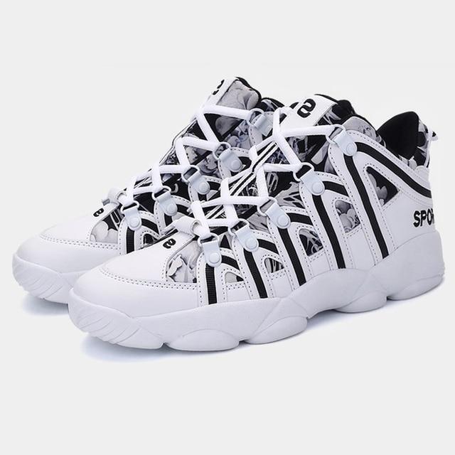 Plus Size 35-47 High Quality 2019 New Men Shoes Men Casual Shoes Unisex Light Weige Breathable Fashion Male Shoes Sneaker NO.195
