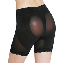 Female Stealth Hip Pad Bottom Butt Lifting Silica Gel Insert Pants Invisible Hoop Panties