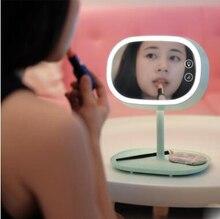 MUID makeup mirror Table lamp dressing Bedside night Princess LED