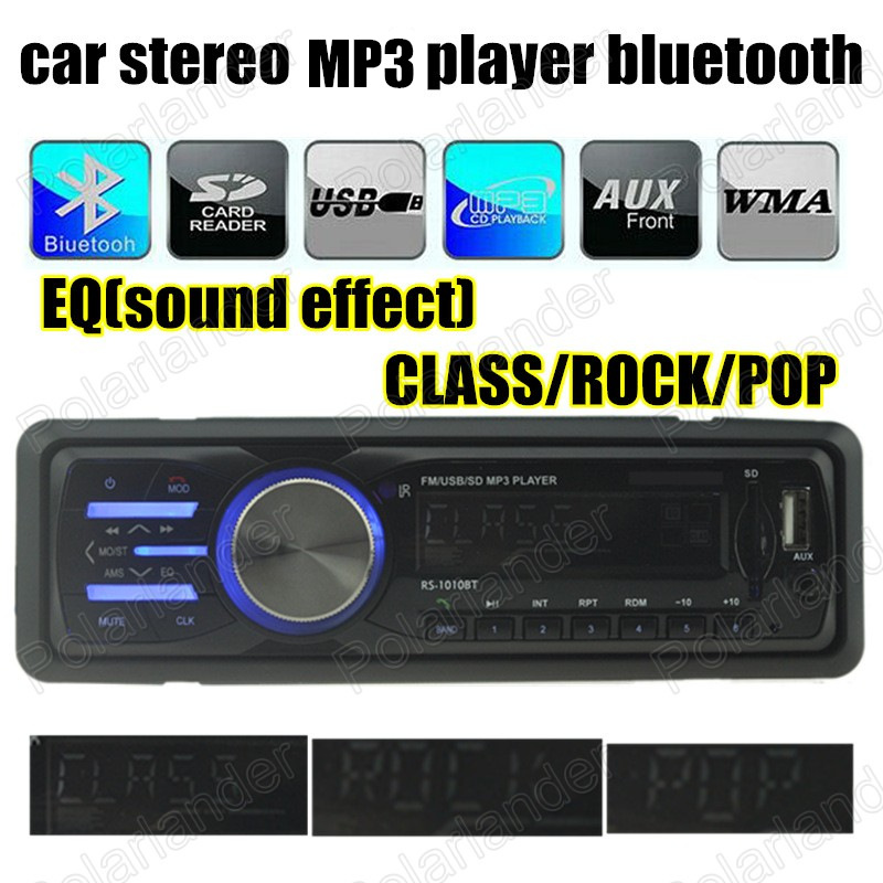 Us Stock1 Din Car Radio Size Stereo Fm And Mp3 Player: Best Selling 1 Din Size Car Radio Stereo In Dash MP3 Music