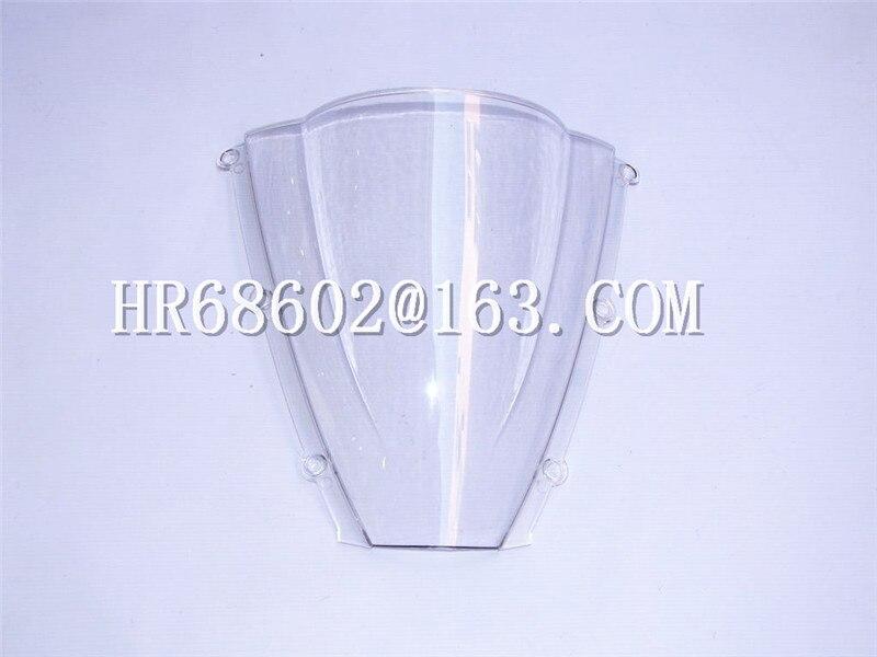 HotSale For Honda CBR 600 F5 CBR600 cbr600 f5 cbr RR rr 2003 2004 F5 03 04 White Windshield WindScreen Double Bubble f5 f5 ff101emhtw20