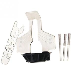 Image 2 - Schärfen Befestigung, Kettensäge Zahn Schleifen Werkzeuge Verwendet mit Elektrische Grinder, Zubehör für Schärfen Outdoor Garten Werkzeug