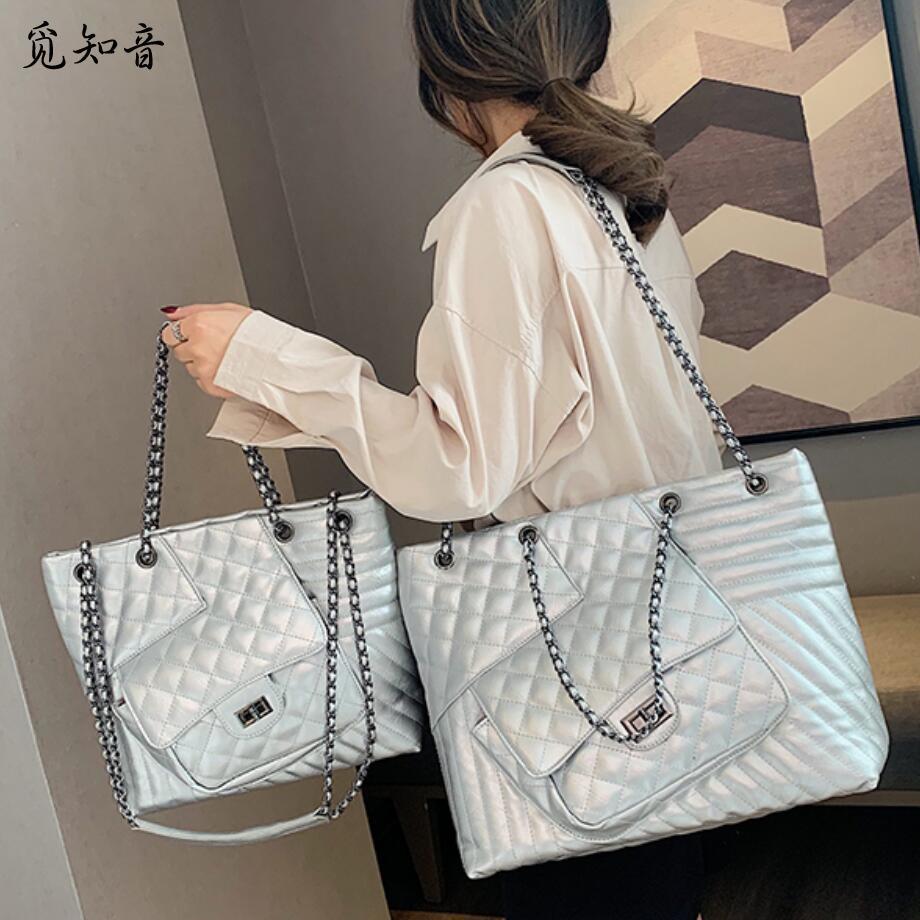 Marque de luxe sac à main 2019 mode nouvelle qualité Pu cuir femmes Designer sac à main chaîne fourre-tout grand sacs à main sacs à bandoulière