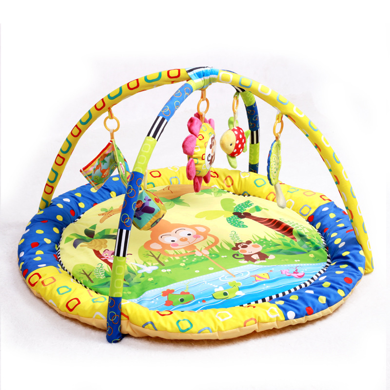 ФОТО 1 Piece 2017 New Colorful Multifunctional Baby Crawling Pad Children Educational Toy Musical Soft For Baby Activity Play Mat