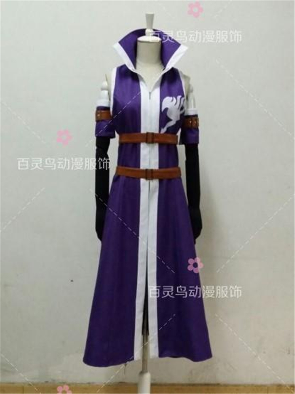 Hot Anime FAIRY TAIL Erza Scarlet Cosplay Costume dress Anime Clothes Full Sets A
