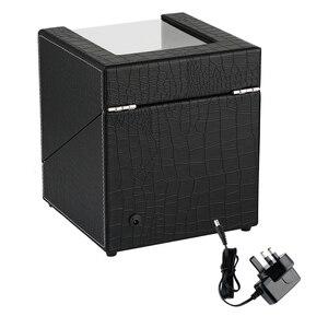 Image 5 - Автоматическая двойная коробка под кожу крокодила из белого углеродного волокна