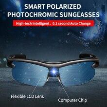Поляризационные солнцезащитные очки, мужские аксессуары, спортивные солнцезащитные очки, очки для вождения, очень трендовые, Blink, фотохромные солнцезащитные очки