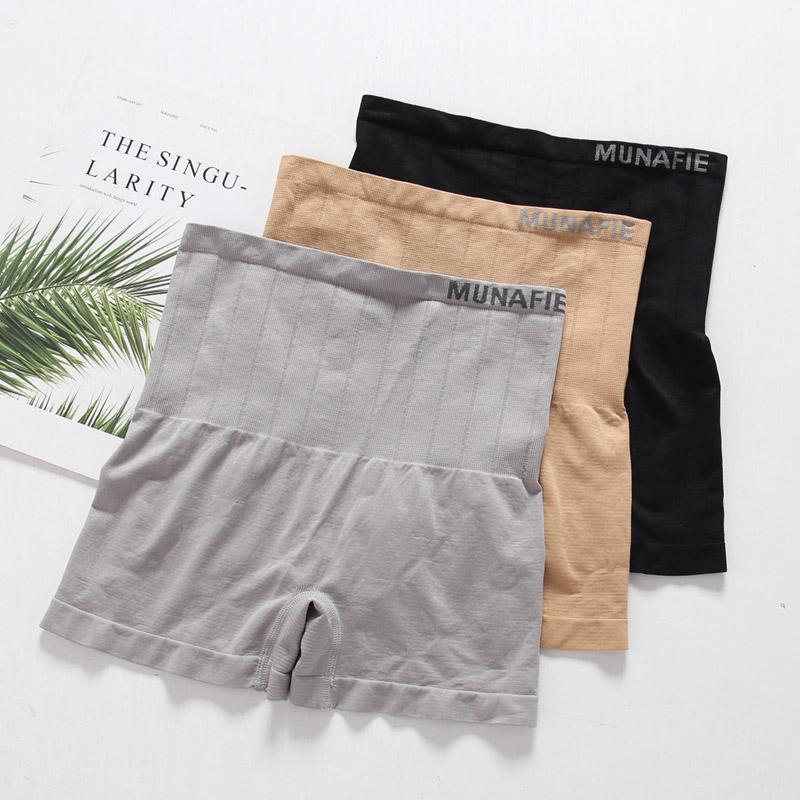 Thin Seamless Women Safety Shorts Pants Lady High Elastic Safe Shorts One Size Seamless High Waist Safe Panty Solid Color