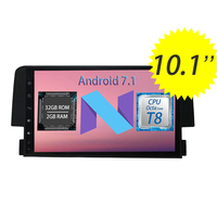 WANUSUAL 9inch Quad Core Android 6 0 Car DVD GPS Navigation For Honda CIVIC 2016 With