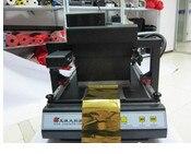 Digitale Automatische Flatbed Printer Hot Folie Printing Stempelen Machine Voor A3 A4 Gratis Verzending Pure En Milde Smaak