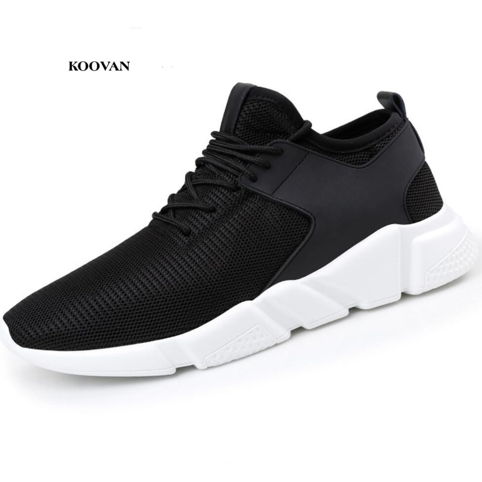 Koovan Women Sneakers 2018 New Couple Sports Shoes Casual Net Shoes Breathable  Women's Shoes Mesh Women's Shoes