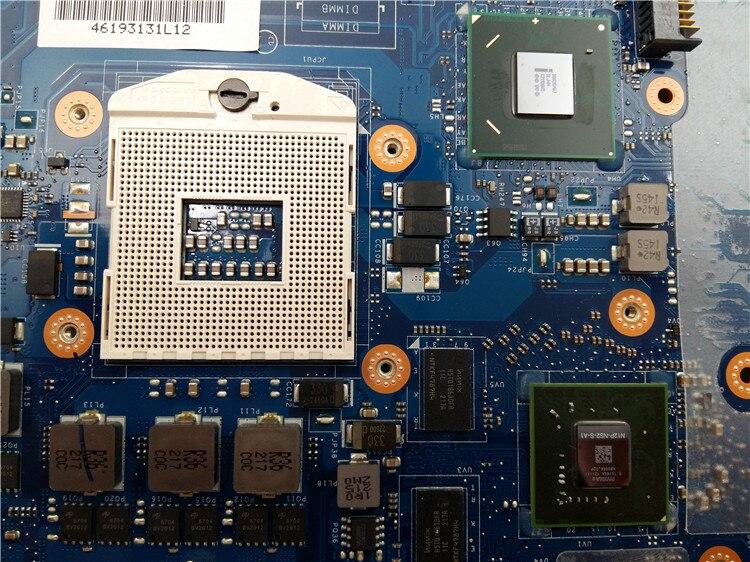 For DELL E6520 Motherboard CN-0X7TCH 0X7TCH X7TCH LA-6561P Intel CPU 100/% tested
