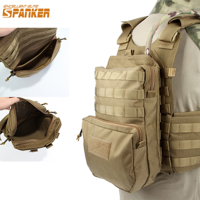 1b59d918fbda EXCELLENT ELITE SPANKER Nylon Outdoor Training Hydration Bag Military Molle  Tactical 3L Water Bags Camping Hunting Accessories