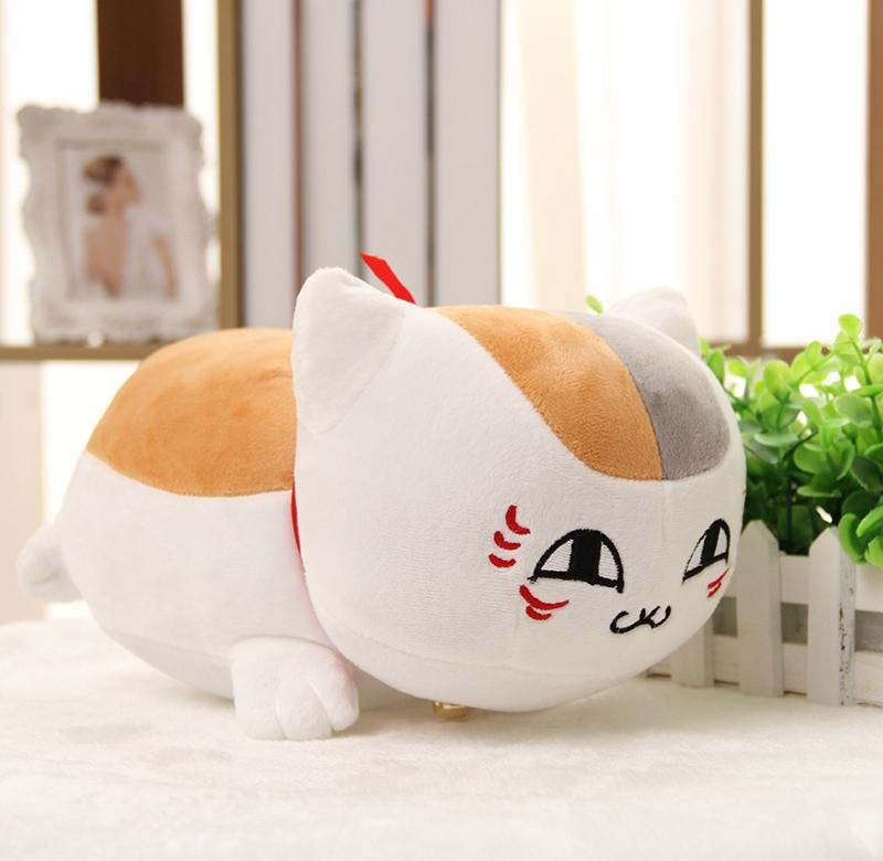 8/20cm Natsume Yuujinchou Nyanko Sensei Cat Teacher Cute Cat Plush Soft Stuffed Baby Cartoon Bed Decoration Cat Figure Doll Fixing Prices According To Quality Of Products Movies & Tv