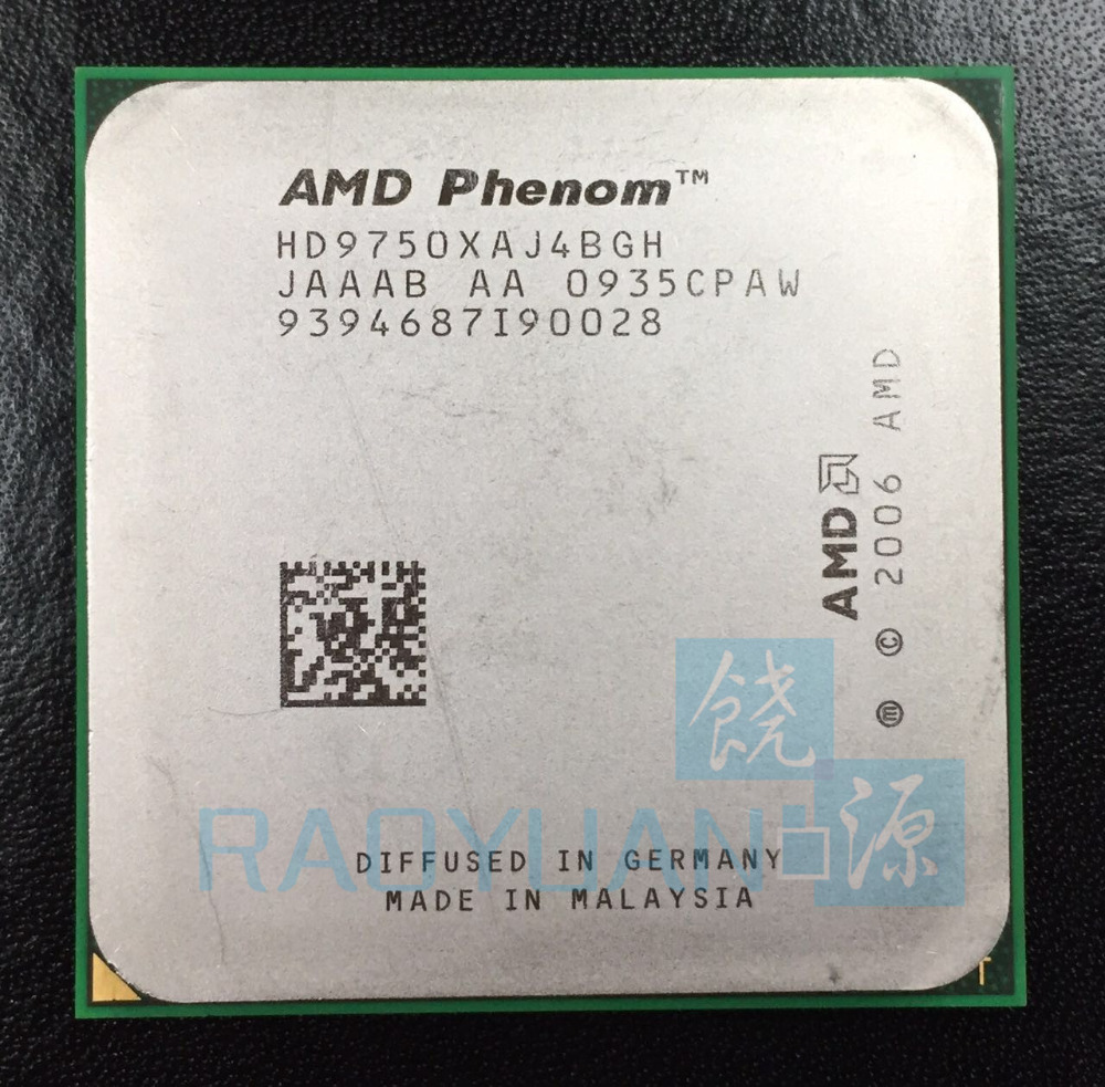 AMD Phenom X4 9750 2.4 GHz Quad-Core CPU Processor HD9750XAJ4BGH Socket AM2+